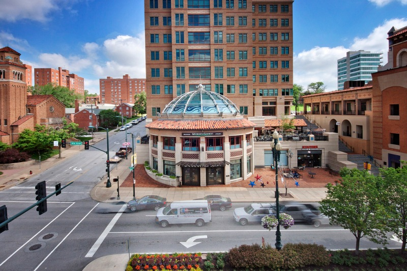 real estate photography, kansas city, restaurant, bar, plaza